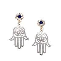 ASOS Hamsa Eye Earrings