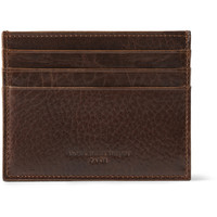 Maison Martin Margiela - Textured-Leather Card Holder | MR PORTER