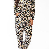 Leopard Hooded Onesie