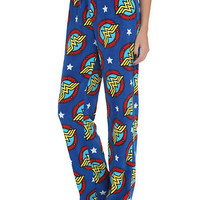 DC Comics Wonder Woman Plush Lounge Pants