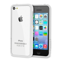 rooCASE Apple iPhone 5C ProGuard Bumper Case - Matte White