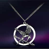 Copper-nickel Alloy The Hunger Game Pendant Necklace M.