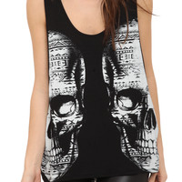 Double Vision Girls Tank Top