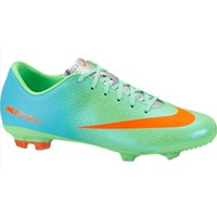 Pro Soccer - Nike JR Mercurial Vapor IX FG Neo Lime-Polarized Blue