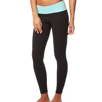 LLD COLORBLOCKED SKINNY YOGA PANTS
