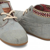 Chambray Trim Women's Tribal Boots