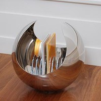 Sphere bookcase