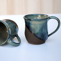 Brownstone Clay Mugs – Set of 2
