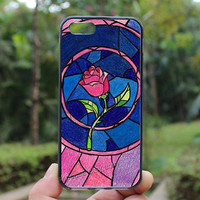 Beauty and the Beast,iphone 5s case,iphone 4 case,iPhone4s case, iphone 5 case,iphone 5c case,Gift,Personalized,water proof