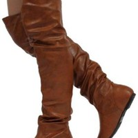 Nature Breeze Women's Vickie Hi Faux Suede Boot