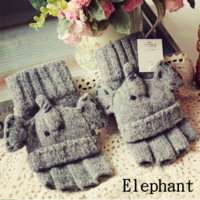 cute Elephant Convertor Gloves