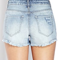 Denim Darling Ripped Shorts
