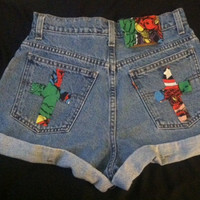 Marvel Cross Shorts
