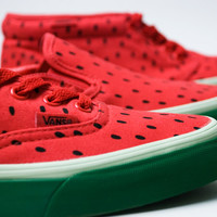 Vans 2009 Spring Watermelon Womens Chukka | Era | Slip-On