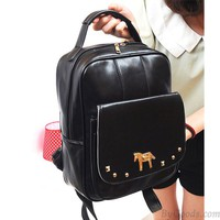 Fresh Pony Rivet College Backpack & Handbag just $24.9 in ByGoods.com
