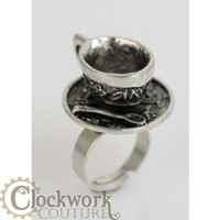 Tea cup ring - Rings - Accessories