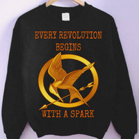 The Hunger Games (Catching Fire) Crewneck