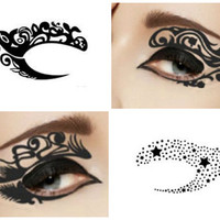 Temporary Tattoo Makeup for the Eyelid (1 pair)