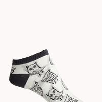 Owl Obsessed Ankle Socks