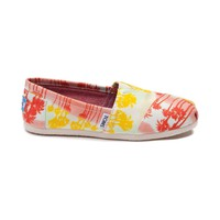 Womens TOMS Classic Slip-On Palm Trees Casual Shoe
