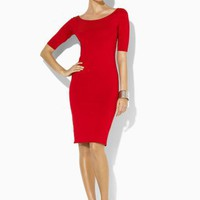 Stretch Silk Knit Dress - New Arrivals   Dresses - RalphLauren.com