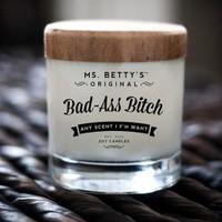 Bad Ass Soy Candle