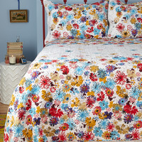 Serenity in Bloom Quilt Set in King | Mod Retro Vintage Decor Accessories | ModCloth.com