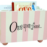 New Arrivals Pink Stripe Bookholder
