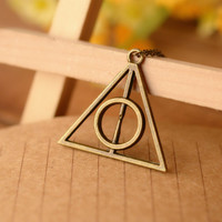 Harry potter necklace,Best Christmas Gift,Friend gift,Lover gift---N016