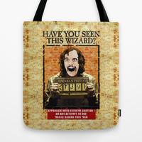 Harry potter Sirius Black most wanted iPhone 4 4s 5 5c, ipod, ipad, tshirt, mugs and pillow case Tote Bag by Three Second